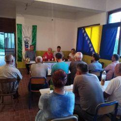 Tribine OO SDA Zavidovići u MO Klek, Potklečje-GM, Pašin Konak i Mećevići