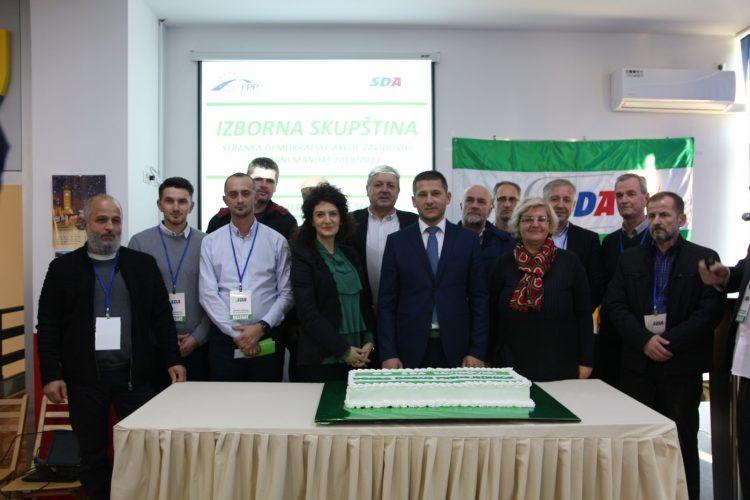 Predsjednik Burkić zahvalio se članovima SDA Zavidovići