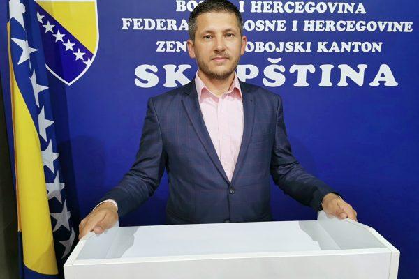 Predsjednik SDA Zavidovići Mirnes Burkić pozvao građane da budu dio pobjedničkog tima